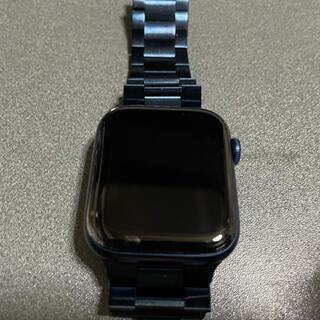 Apple Watch - Apple Watch Series 6 GPSモデル 44mm ブルー おまけ