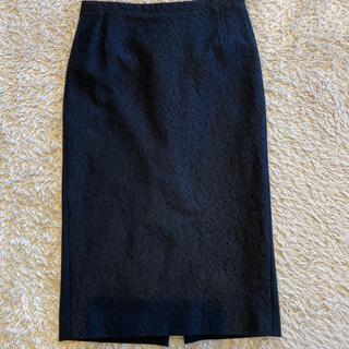 ヌメロヴェントゥーノ(N°21)のヌメロ レース ペンシルスカート(ひざ丈スカート)