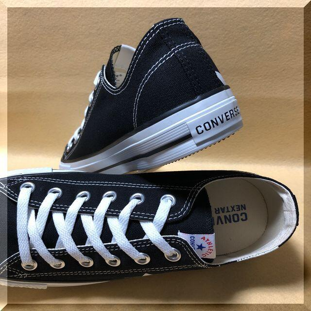 CONVERSE(コンバース)の26.0cm コンバース ネクスター110 ST OX ブラック メンズの靴/シューズ(スニーカー)の商品写真