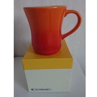 ルクルーゼ(LE CREUSET)のLE CREUSET ル・クルーゼ マグカップ オレンジ(グラス/カップ)