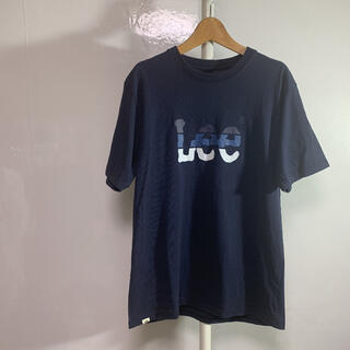 Lee - Lee Tシャツ M-L ネイビー 品番39