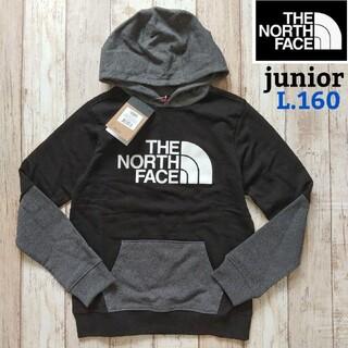 THE NORTH FACE - 【海外限定】TNF パーカー ジュニア レディース ブラック Lサイズ 160