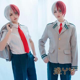 ヒロアカ コスプレ メンズ (衣装セット) XL(衣装一式)