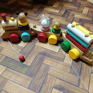 ミキハウス(mikihouse)のミキハウス プルトイ 汽車(知育玩具)