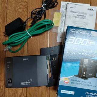 エヌイーシー(NEC)のNEC WL-300NE-AG ワイヤレスイーサネットコンバーター(PC周辺機器)