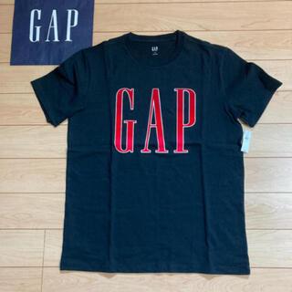 ギャップ(GAP)の新品★ Mサイズ gap Tシャツ ロゴ 黒色 (Tシャツ/カットソー(半袖/袖なし))