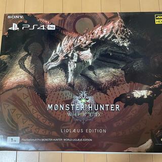 PlayStation4 - SONY PS4 Pro HDD 1TB 限定リオレウスエディション デザイン