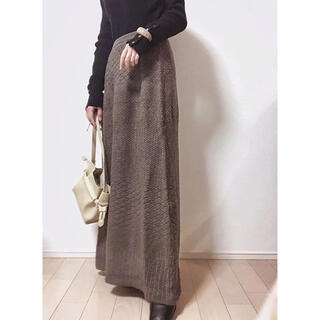 TODAYFUL - willfully【新品未使用】eyelet knit long skirt