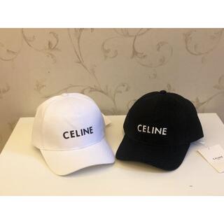 セリーヌ(celine)の極上美品celine最新の野球帽a14(ハット)