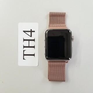 Apple Watch - Apple Watch 42mm Stainless Steel ホワイト