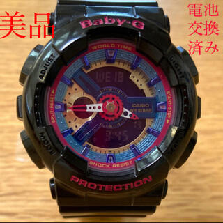 Baby-G - Baby-G G-Shock BA-112 限定品 美品