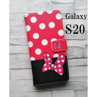Galaxy S20 ギャラクシー S20 リボン 手帳型 かわいい カバー