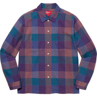 Supreme - M Multicolor Supreme Plaid Flannel Shirt