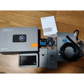apeman c860 1520p前後カメラ搭載ドライブレコーダー