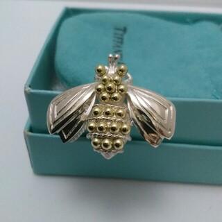 Tiffany & Co. - ティファニーブローチ 蜂 シルバー/ゴールドカラー