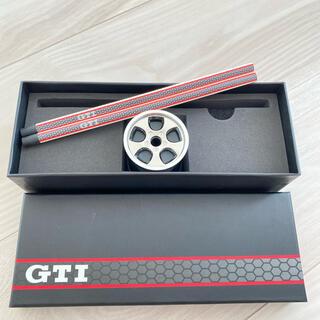 フォルクスワーゲン(Volkswagen)のフォルクスワーゲン オリジナル Golf GTI ペンシル&シャープナー♡新品(その他)