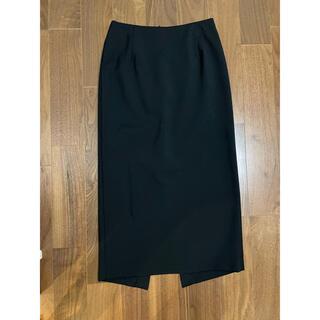 ルシェルブルー(LE CIEL BLEU)のルシェルブルー タイトスカート 黒色(ひざ丈スカート)