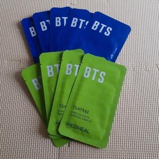 ボウダンショウネンダン(防弾少年団(BTS))のBTS×メディヒール 水分補給パック 計9枚(パック/フェイスマスク)