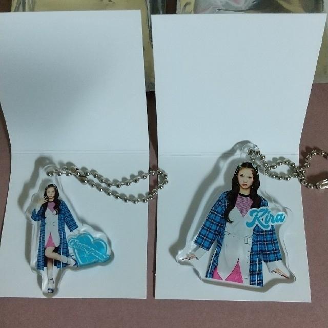 Girls2 山口綺羅 アクリルキーホルダー セット おまけ付き エンタメ/ホビーのタレントグッズ(アイドルグッズ)の商品写真