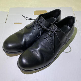 パドローネ(PADRONE)のPADRONE パドローネ ダービー プレーントゥ シューズ 41 ブラック(ドレス/ビジネス)