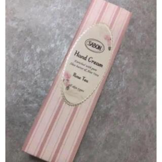 サボン(SABON)の新品未使用・未開封⭐️サボン ローズティーハンドクリーム 50ml(ハンドクリーム)