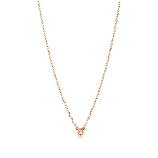 Tiffany & Co.(ティファニー)の【ティファニー】バイザヤード  ローズゴールド レディースのアクセサリー(ネックレス)の商品写真