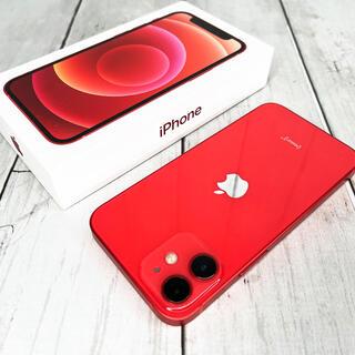 iPhone - 【ケース付き】iPhone 12 mini レッド 128GB SIMフリー