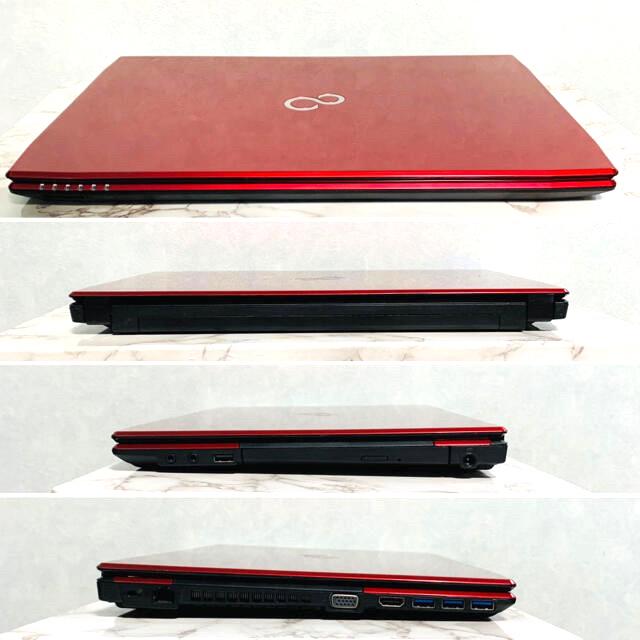 富士通(フジツウ)の【新品バッテリー】Fujitsu LifeBook/ Office2019 スマホ/家電/カメラのPC/タブレット(ノートPC)の商品写真