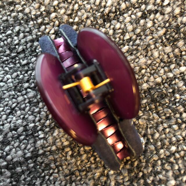 acca(アッカ)のアッカacca ストーン煌めく⭐️素敵なバンスクリップ ヘアクリップ5.5センチ レディースのヘアアクセサリー(バレッタ/ヘアクリップ)の商品写真