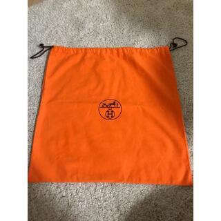 エルメス(Hermes)の値下げ◆中古◆ Hermes エルメス 保存袋 オレンジ43.5x43.5cm(ポーチ)