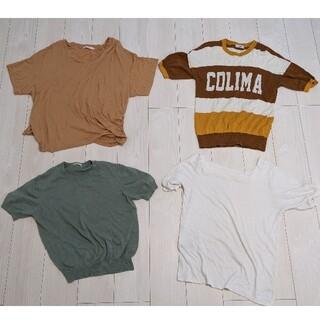 マウジー(moussy)のトップス 4点まとめ売り(Tシャツ(半袖/袖なし))