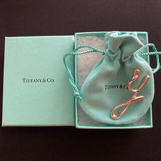 Tiffany & Co. - Tiffany ティファニー ブローチ イニシャルy