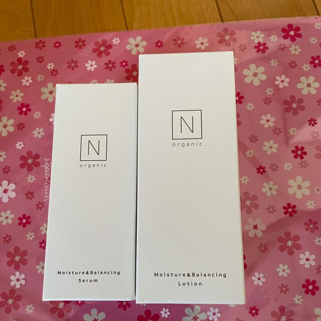 🎀 N  organic ローション+セラム セット コスメ/美容のスキンケア/基礎化粧品(化粧水/ローション)の商品写真