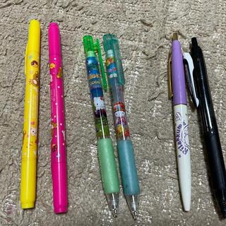 ハローキティ(ハローキティ)のキャラクターボールペン、シャーペン、マジックまとめ売り(ペン/マーカー)