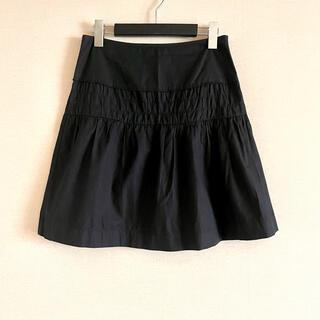 ミュウミュウ(miumiu)のmiu miu ミュウミュウ ◎ シンプルフレアスカート(ひざ丈スカート)