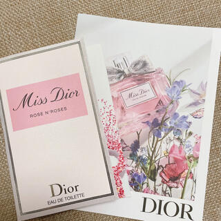 Dior - 新作 Miss Dior オードゥパルファン 試供品 1ml