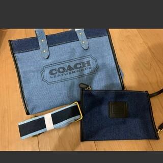 COACH - 大人気♡COACH デニム トートバッグ ショルダーバッグ 2way