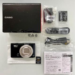 CASIO - CASIO HIGH SPEED EXILIM EX-ZR4100 保証期間有り