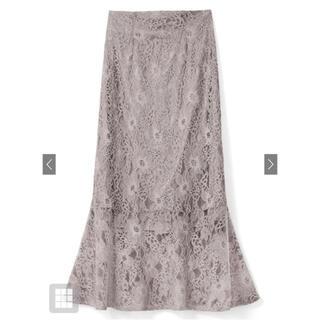 GRL - GRL グレイル ハイウエストレースマーメイドスカート