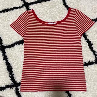 ダズリン(dazzlin)のdazzlin  リブTシャツ(Tシャツ(半袖/袖なし))