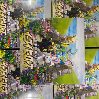 ポケモン - ポケモンカードイーブイヒーローズ 5BOX