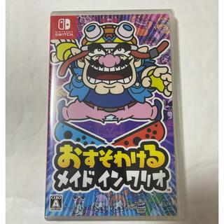 Nintendo Switch - 【新品未開封品】おすそわける メイド イン ワリオ Switch