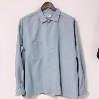 アーバンリサーチ(URBAN RESEARCH)のURBAN RESEARCH グログランナイロンオーバーシャツ (シャツ)