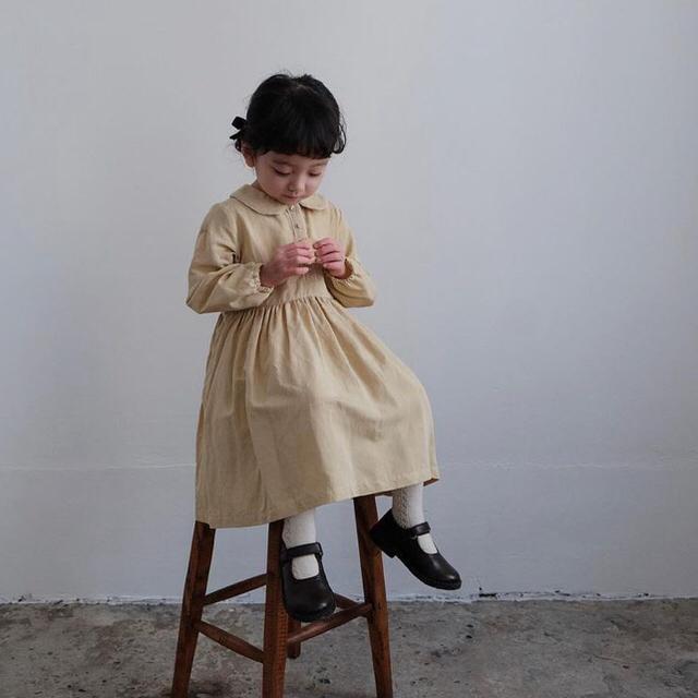 june little closet マカロンドレス 90 キッズ/ベビー/マタニティのキッズ服女の子用(90cm~)(ワンピース)の商品写真