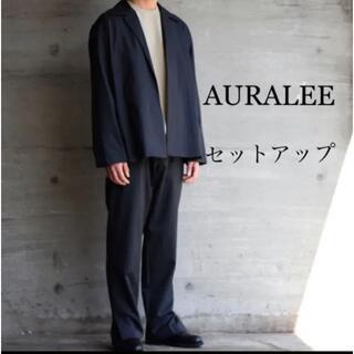 コモリ(COMOLI)の美品 auralee 19ss set up オーラリー セットアップ 別注(セットアップ)