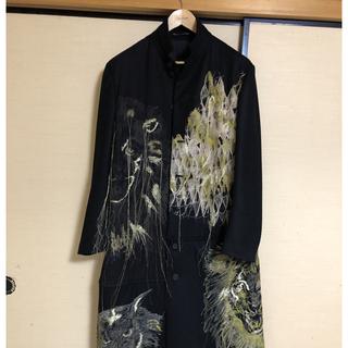 Yohji Yamamoto - Yohji Yamamoto 19aw 金刺繍 コート サイズ2