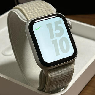 Apple Watch - Apple Watch Series4 Nike アルミ 40mm セルラー
