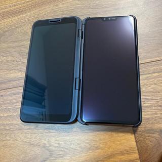 LG Electronics - LG thinQ v50 5G シムフリー Dual Screenスマホ 韓国版