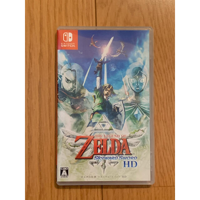 Nintendo Switch(ニンテンドースイッチ)のゼルダの伝説 スカイウォードソードHD Nintendo Switch エンタメ/ホビーのゲームソフト/ゲーム機本体(家庭用ゲームソフト)の商品写真