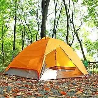 SKYLINK ドームテント ライトオレンジ【新品】